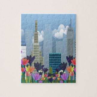 Städtische Natur Puzzle