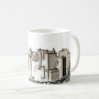 Städtische New- YorkSkyline Kaffeetasse