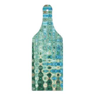 Städtische Oasen-dekoratives Glasschneiden-Brett Schneidebrett