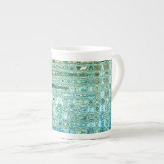 Städtische Oasen-Knochen-China-Tasse durch Porzellantasse