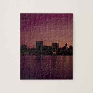 Städtische Stadt New- York Puzzle