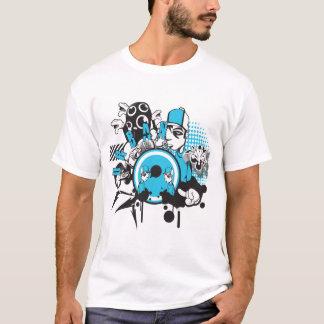 Städtische Straßenblauart T-Shirt