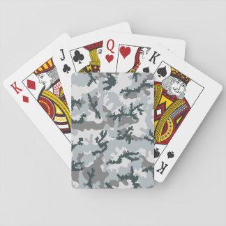 Städtische Tarnung Spielkarten
