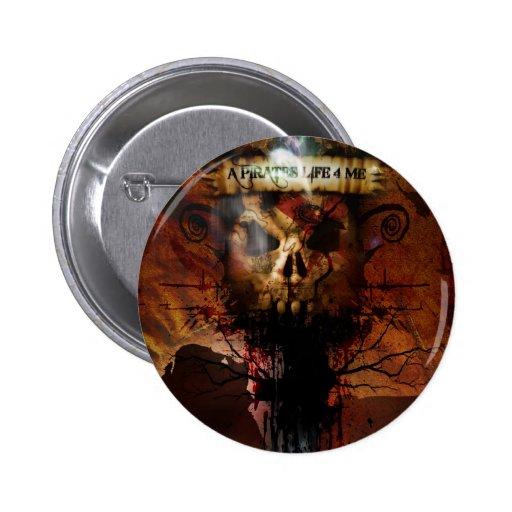 Städtischer Cowboy - Pirat - Knopf Buttons