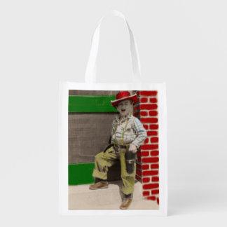 städtischer Cowboy Wiederverwendbare Einkaufstasche
