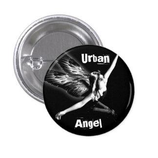 Städtischer Engel Runder Button 2,5 Cm