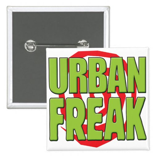 Städtischer Freak G Anstecknadel