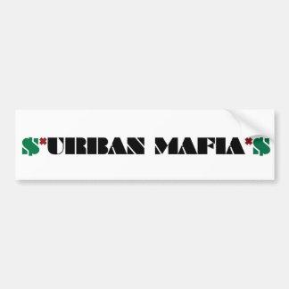städtischer Mafiaaufkleber Autoaufkleber