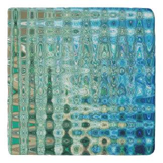 Städtischer Oasen-Marmor Trivet durch Künstler Töpfeuntersetzer