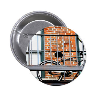 Städtischer Reiter Runder Button 5,7 Cm