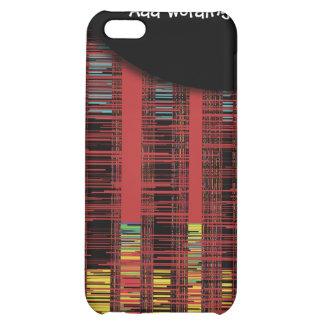 Städtischer Skyline abstrakt iPhone 5C Cover