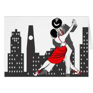 Städtischer Tango Karte