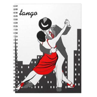 Städtischer Tango Spiral Notizblock