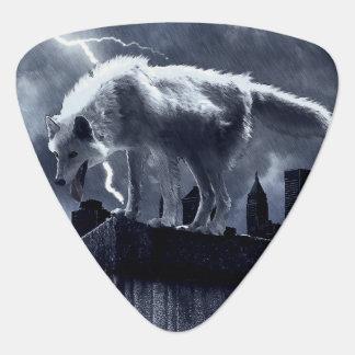 Städtischer Wolf Plektrum