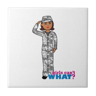 Städtisches Armee-Mädchen Keramikkacheln