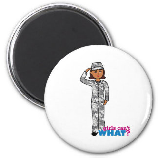 Städtisches Armee-Mädchen Kühlschrankmagnete