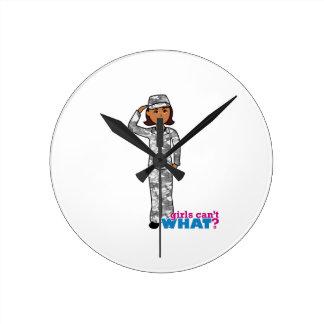 Städtisches Armee-Mädchen Uhren