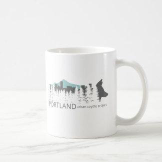 Städtisches Kojote-Projekt Portlands Kaffeetasse