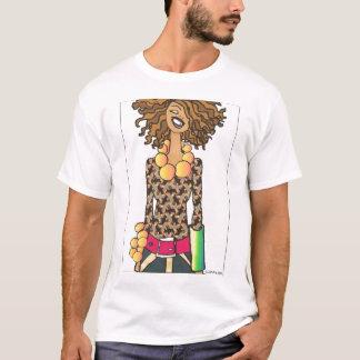 Städtisches Mädchen (Mann - Weiß) T-Shirt