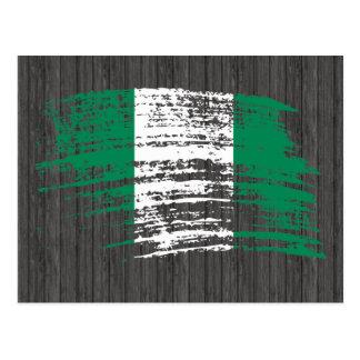 Städtisches Nigeria Postkarte
