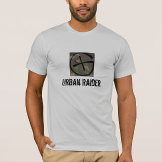Städtisches Räuber Geocaching Shirt