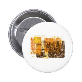Städtisches Stadtbild Runder Button 5,7 Cm