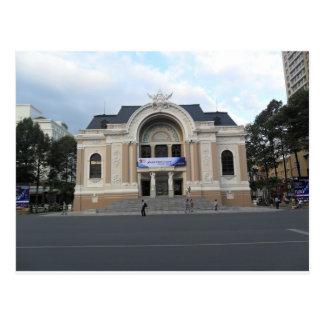 Städtisches Theater in Ho Chi Minh Vietnam Postkarte