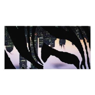 Städtisches Tier Foto Grußkarte