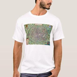 Stadtplan von Brügge, von 'Civitates Orbis Terraru T-Shirt