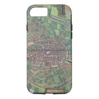 Stadtplan von Brüssel, von 'Civitates Orbis Terra iPhone 8/7 Hülle