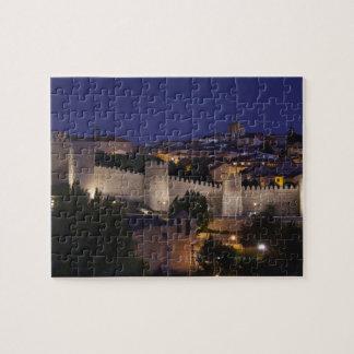 Stadtwände von Los Cuarto Postes, Dämmerung Puzzle