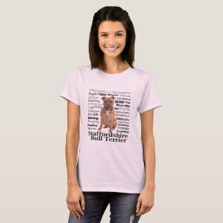 Staffie Merkmal-T - Shirt