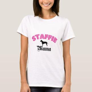 Staffie Mutter T-Shirt