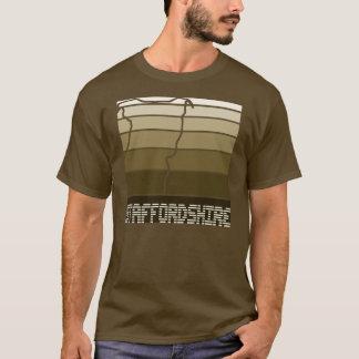 Staffie Quadrat - Terrier-Shirt Staffordshires T-Shirt