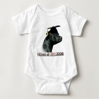 Staffordshire-Bullterrier-Absolvent 09 Baby Strampler