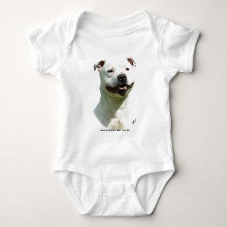 Staffordshire-Bullterrier Baby Strampler