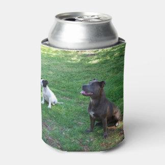Staffordshire-Bullterrier, _Can_Stubby_Holder. Dosenkühler