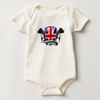 Staffordshire-Bullterrier ENGLAND Baby Strampler