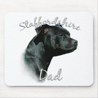 Staffordshire-Bullterrier-Vati 2 Mousepad