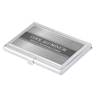 Stahl-/Aluminiumeffekt-Visitenkarte-Halter Visitenkarten-Halter