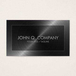 Stahlblick-Visitenkarte Visitenkarten