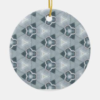 StahlFashionista 1 Rundes Keramik Ornament