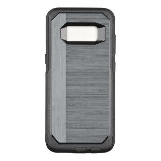 Stahlgrau-Bambusgrenzhölzerner Korn-Blick OtterBox Commuter Samsung Galaxy S8 Hülle