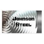 Stahlmetallblick-Visitenkarten