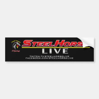 Stahlpferde-LIVEabziehbild Autoaufkleber