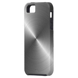 Stainless Steel Metal Look iPhone 5 Case