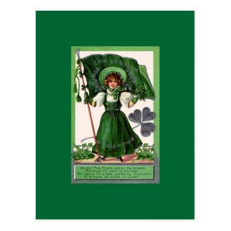 Staint Patrick Tag 3 Postkarte