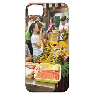 Stall außerhalb eines Tempels Singapur iPhone 5 Hülle