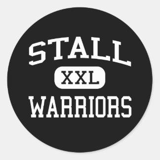 Stall - Krieger - hoch - Charleston Sticker