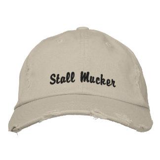 Stall Mucker Bestickte Kappe